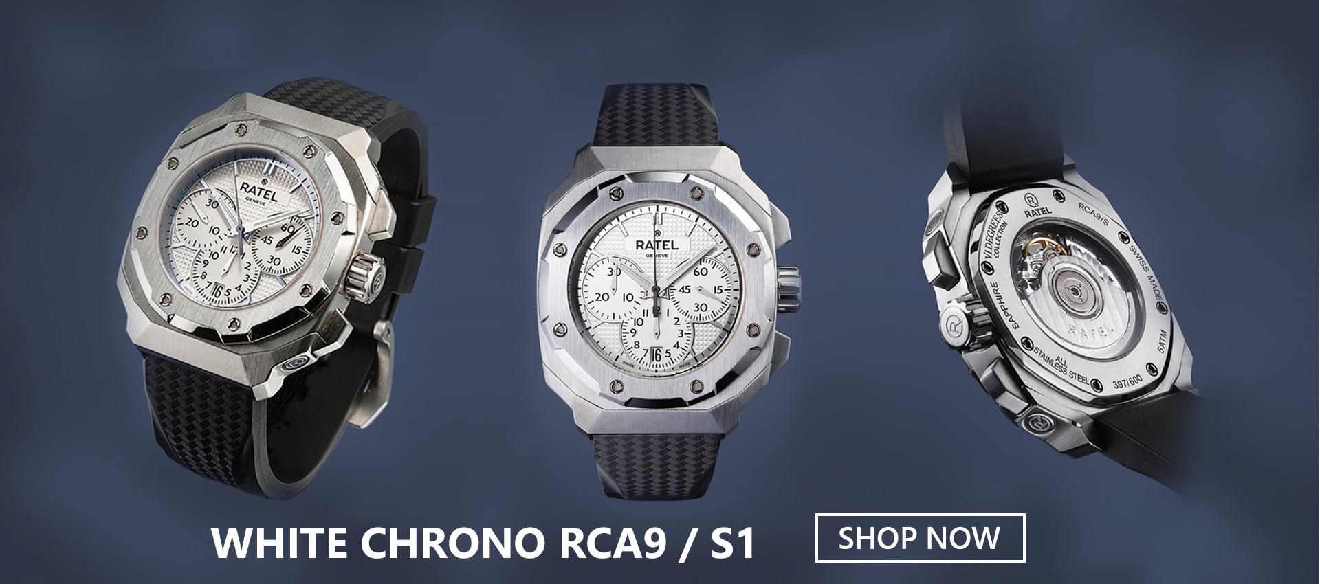 White Chrono RCA9 / S1